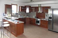 Kuchyň lamino - Ukázka řešení interiéru z lamina
