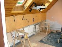 Kuchyňská linka lamino dřevodekor (montáž)