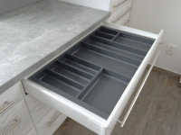 Kuchyňská linka lamino, šuplíkový výsuv Blum