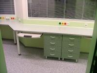 Kanceláře na míru- ordinace-laboratoře - materiál
